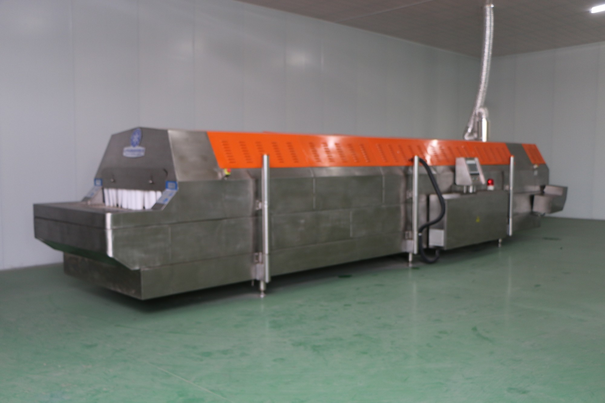 tunnel freezer for fruits