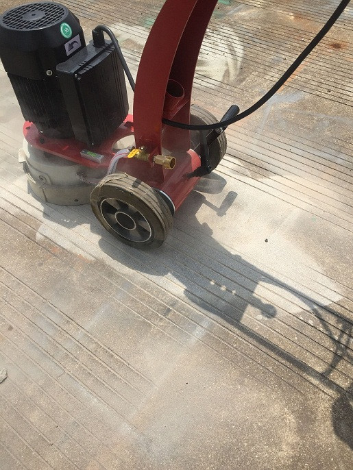 Floor sander for sanding and polishing