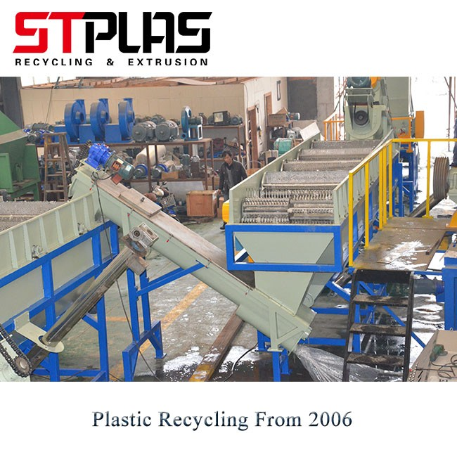 PP PE Plastic Friction Washer Recycling Lines