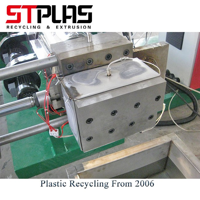PP PE Film Bag Plastic Granules Machine
