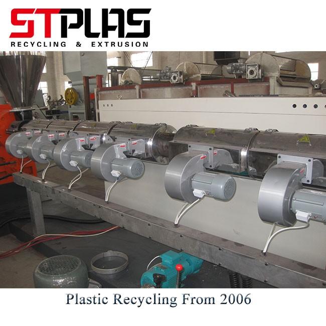 Plastic Flakes Scraps Pelletizing Line
