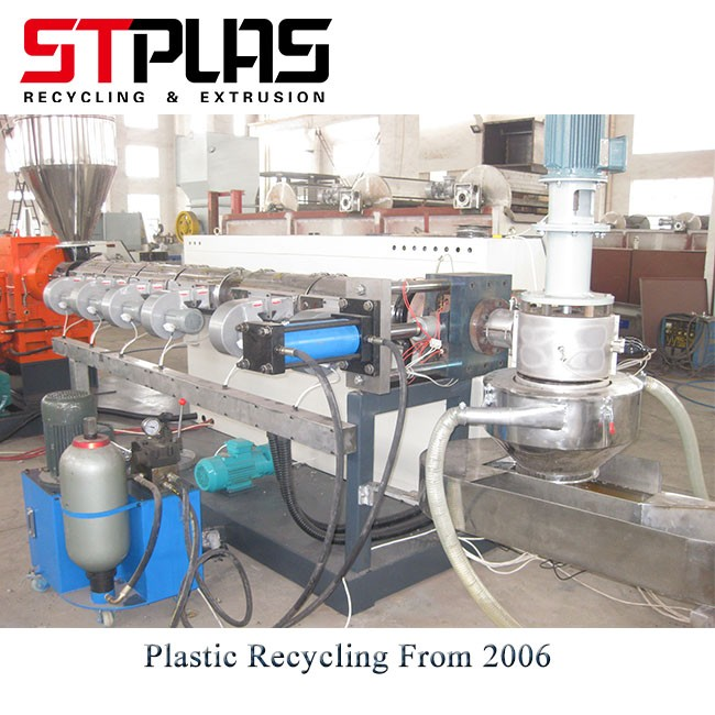 Plastic Recycling Machine And Pelletizing Machine For Plastic Flakes