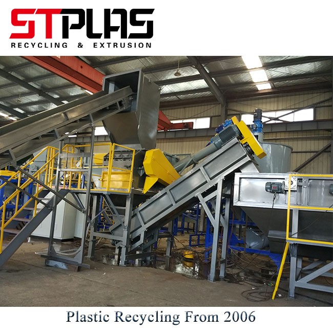 Plastic Film Bag Crusher Machine