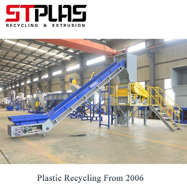 Recycling Plastic Crusher