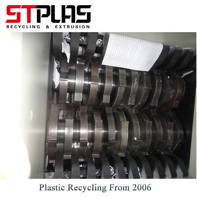 Double Shaft Plastic Shredder