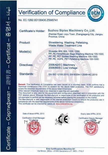 EU authorization certification