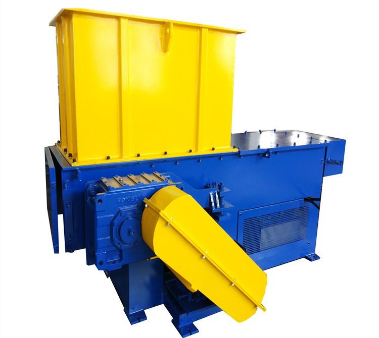 single shaft plastic bottle shredder machine