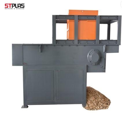 High quality wood pallet single shaft shredder