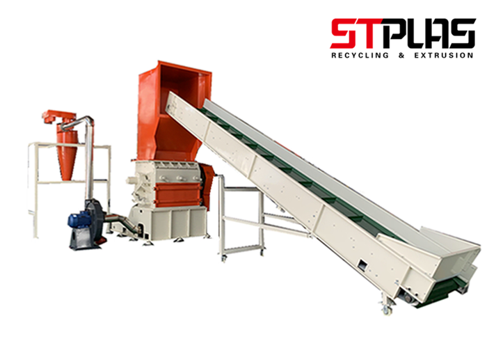 Plastic Bottle Crusher For Recycling