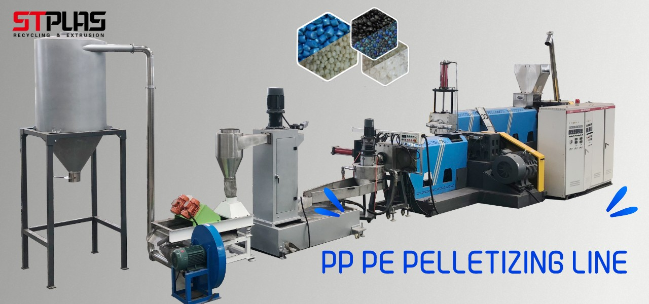 PP PE pelletizing line