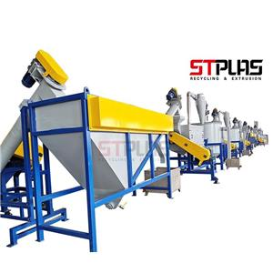 Plastic recycling solutions Project of PET plastic washing line To South Africa