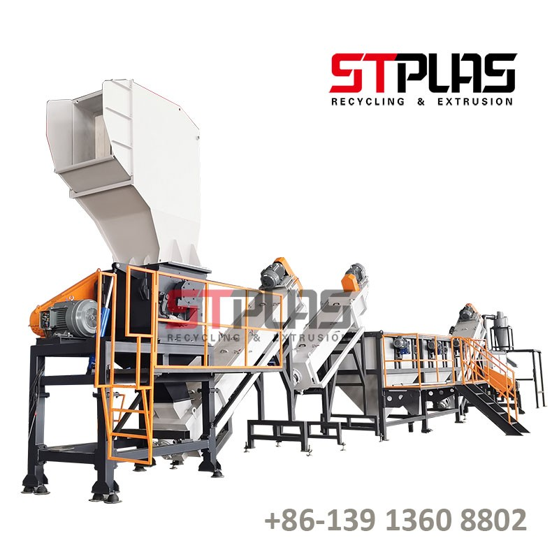 Automatic HDPE Plastic Recycling Machine