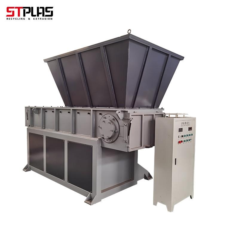 industry single shaft shredder rotor blades equipment