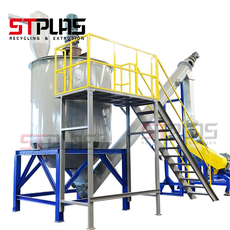 Stainless Steel PET Bottle Recycling Equipment