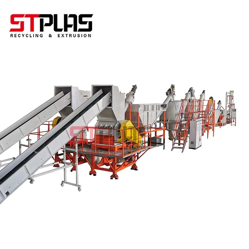 High Speed Friction Machine PET Plastic Recycling Process