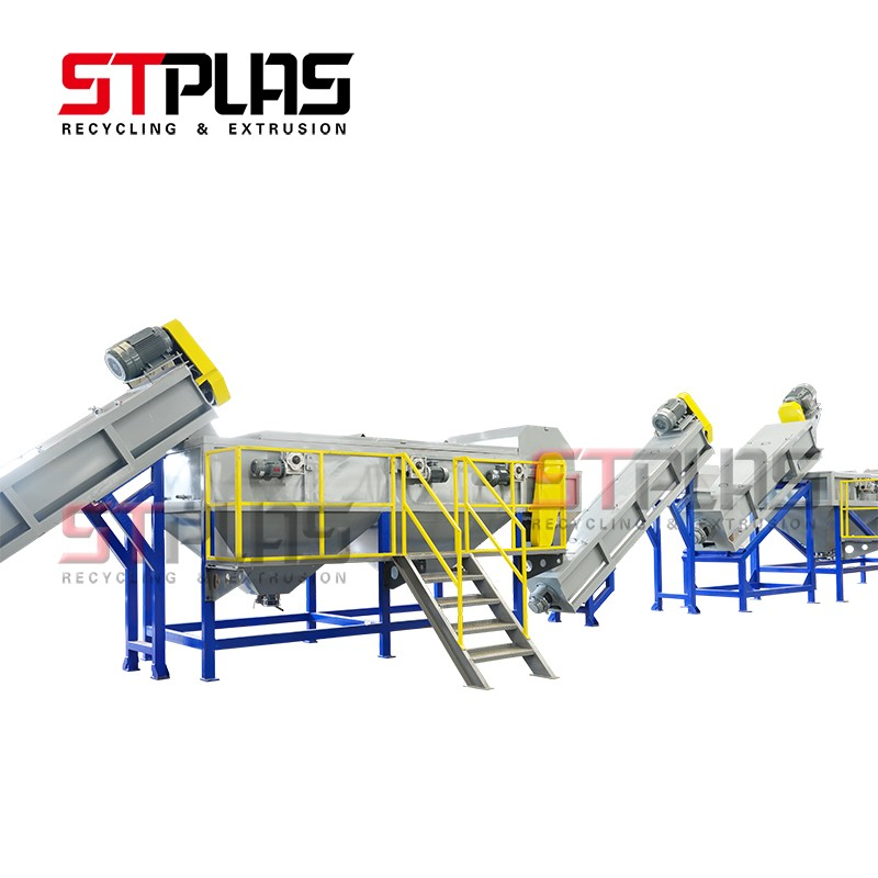 plastic HDPE Bottle Recycling Lines system