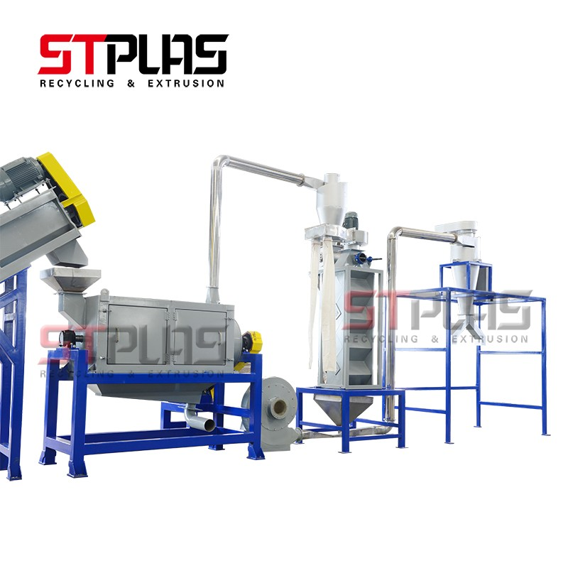 Waste HDPE Plastic Recycling Line