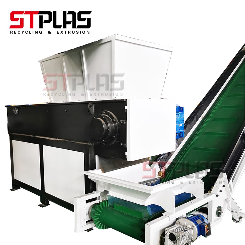 New Automatic PP PE film shredding washing drying line