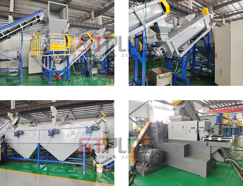 film washing recycling line