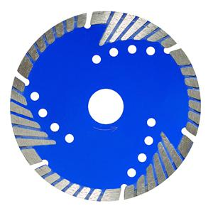 Segmented Bevel Turbo Blade With Protecting Teeth