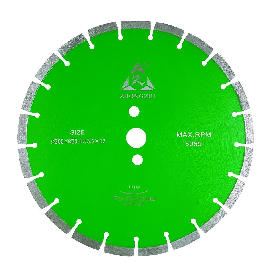 Green Concrete Blade
