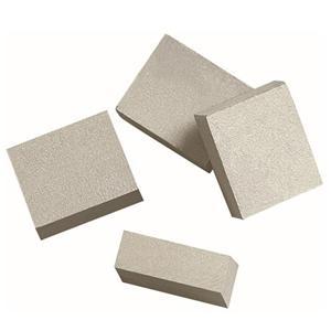 Multi-blade stone segments and blad