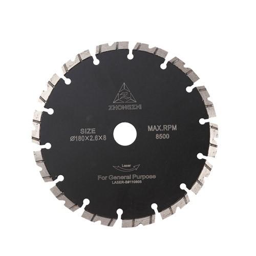 V-Shaped Laser Turbo Bevel Segmented Blade