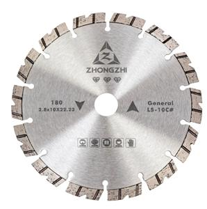 Dry Cutting V-Shaped Laser Turbo Bevel Segmented Blade