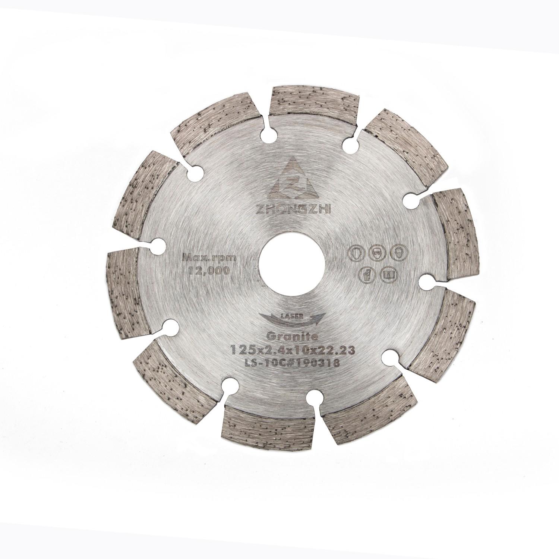 Better Chip Removal Laser Segmented Blade for Angle grinder
