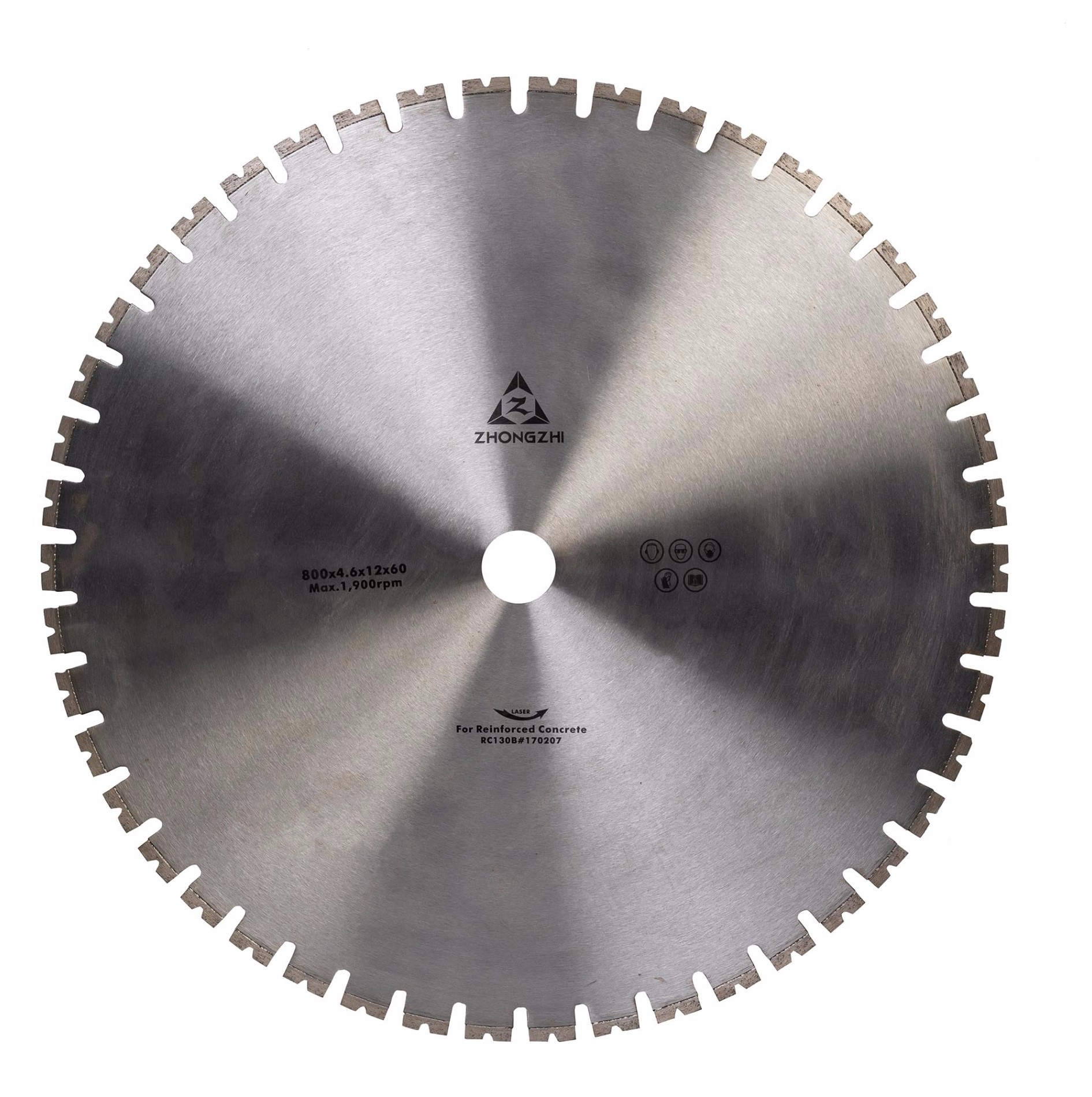 Sharp Laser Diamond Wall Saw Blade for Construction