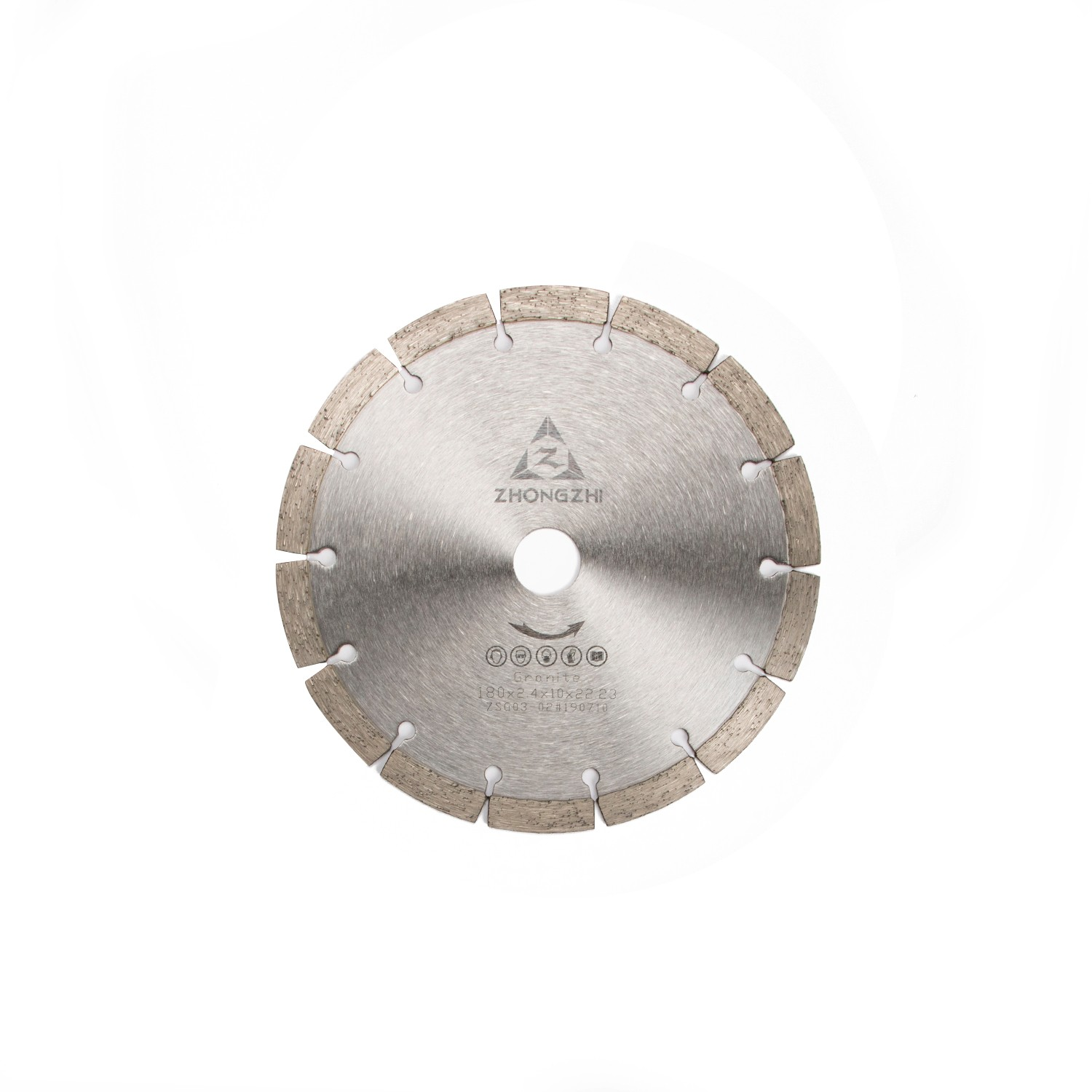 Highly sharpness of Dry Cutting and Excellent Smoothness Cutting Sintered Segmented Blade