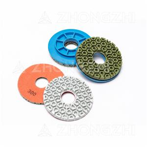 Good sharpness and universality Cellular Polishing Pad for Stone