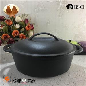 Cast Iron Pot Cooking