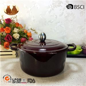 エナメル鋳鉄鍋