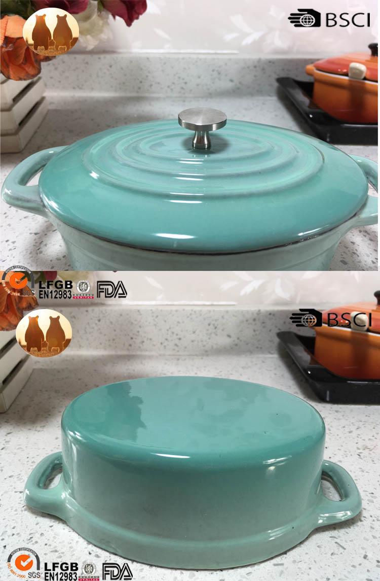 cast iron mini pot