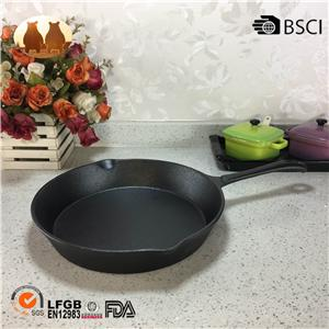 Cast Iron Presecond Fry Pan