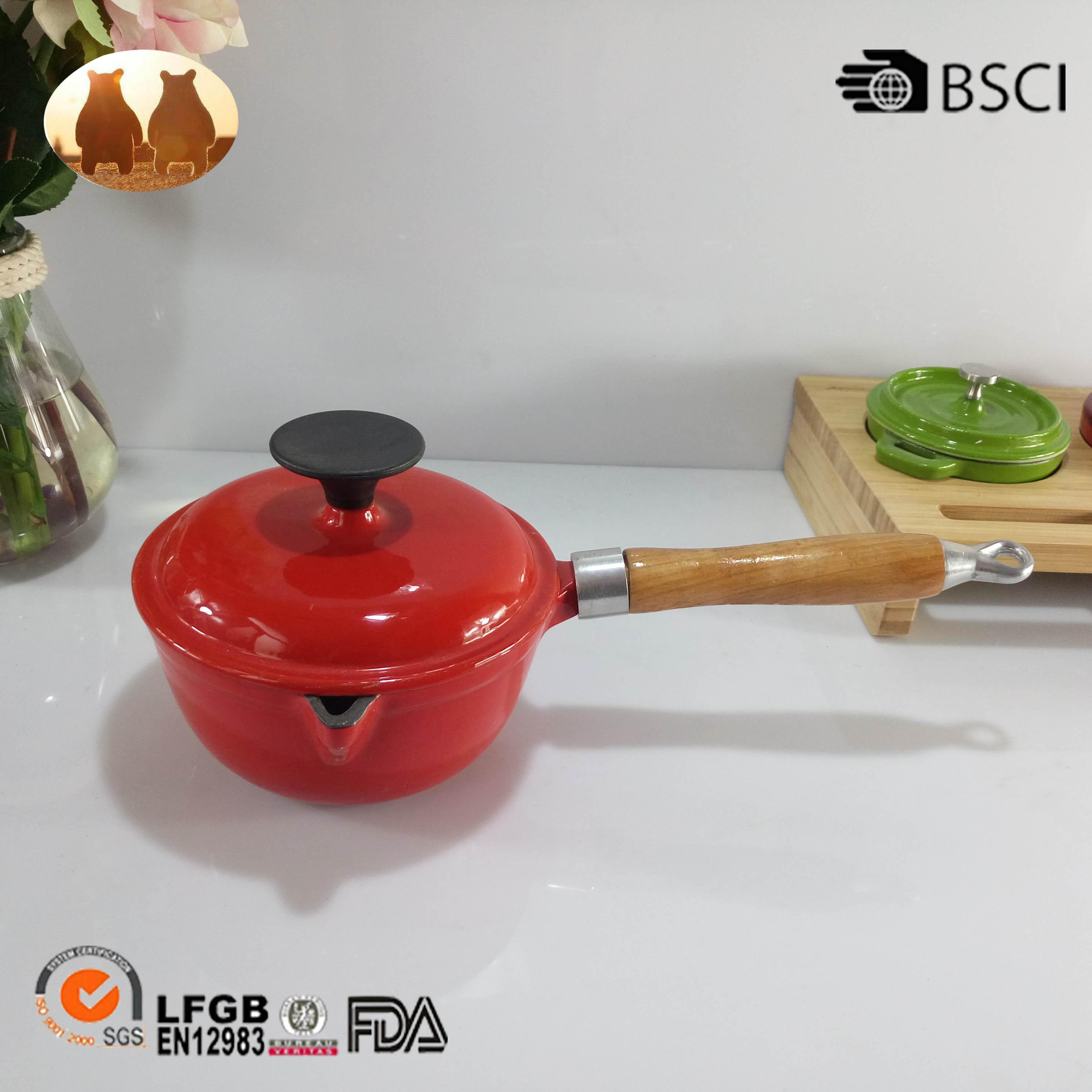 Cast Iron Sauce Pot