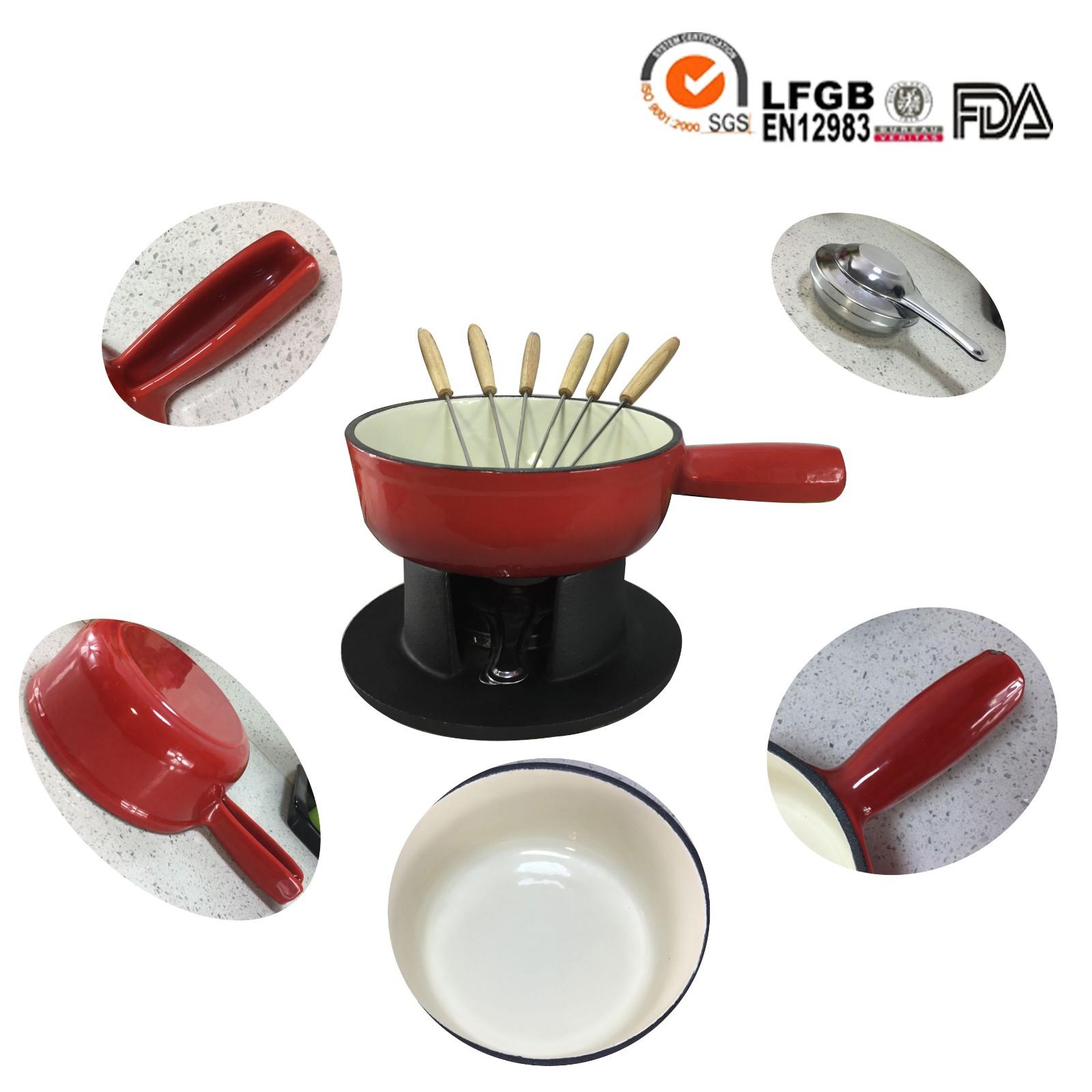 cast iron fondue