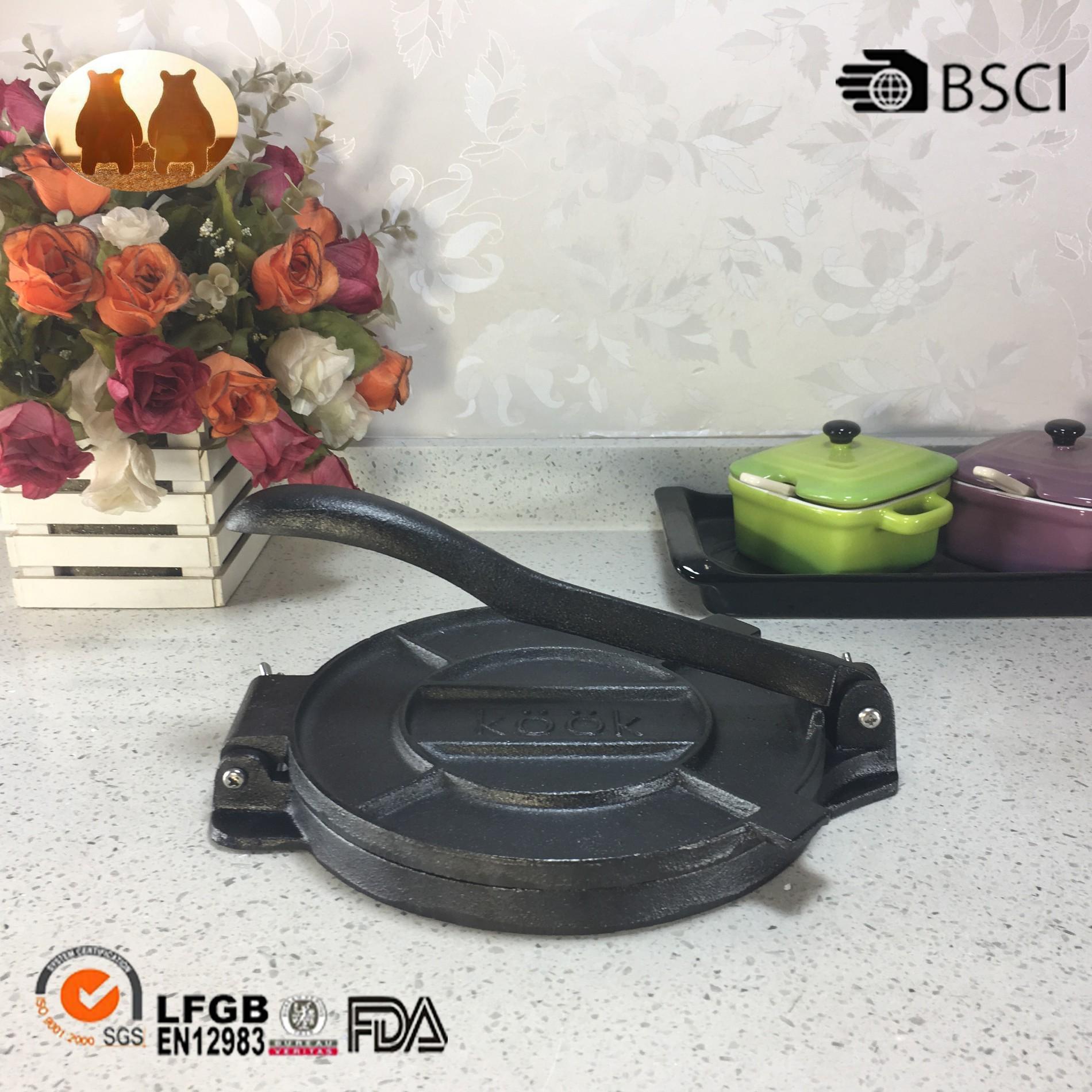 Cast Iron Tortilla Pan Manufacturers, Cast Iron Tortilla Pan Factory, Supply Cast Iron Tortilla Pan