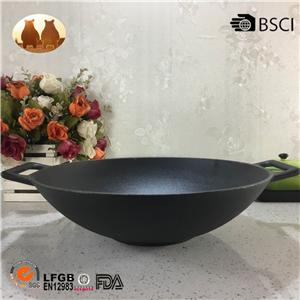 Cast Iron China Wok
