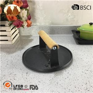 Cast Iron Round Meat Press