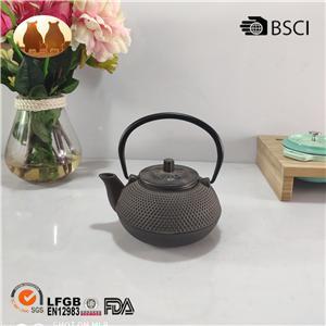 Cast Iron Enamel Tea Pot With Cup