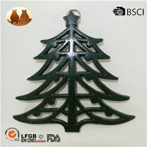 Cast Iron Christmas Tree Trivet