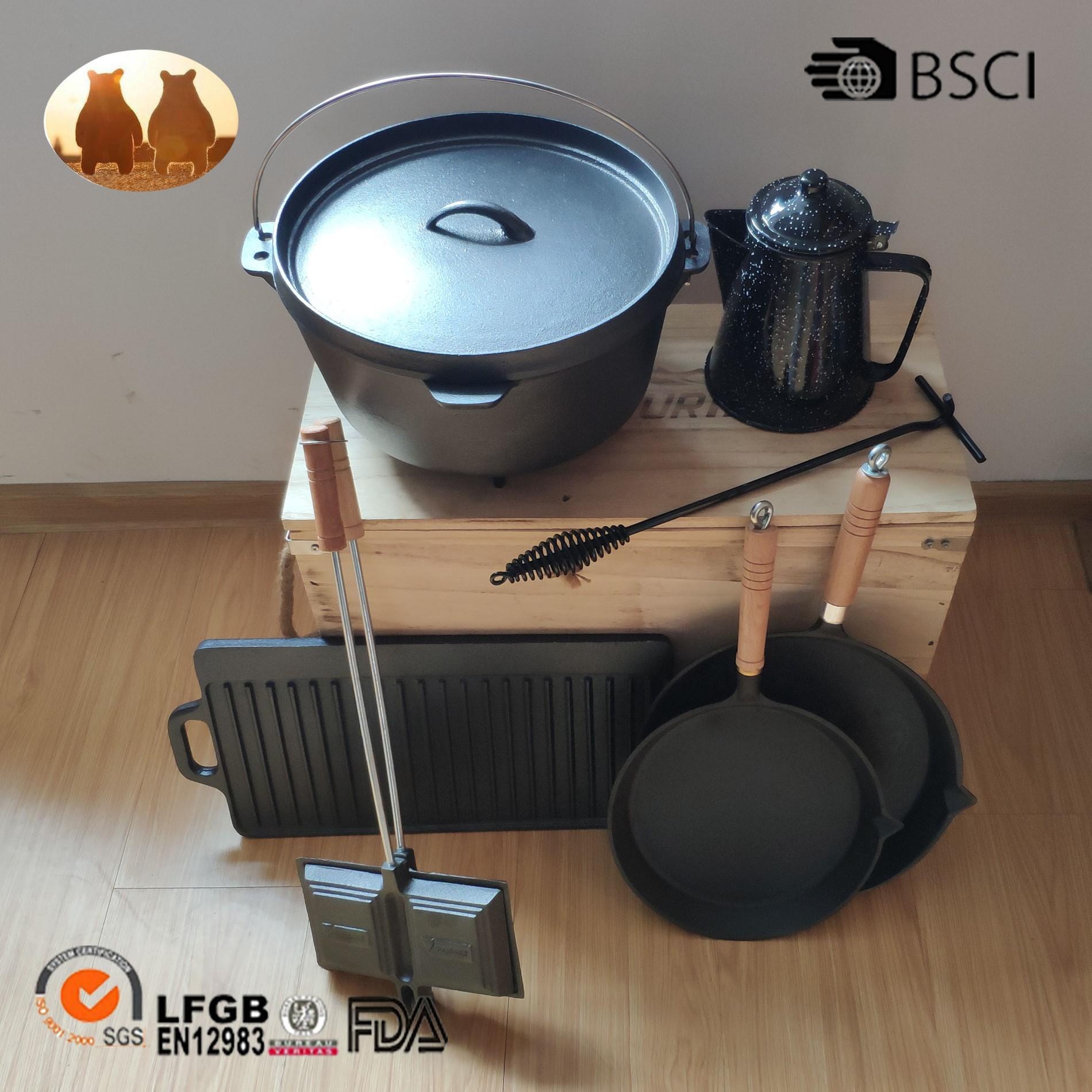 Cast Iron Camping Cookware Manufacturers, Cast Iron Camping Cookware Factory, Supply Cast Iron Camping Cookware
