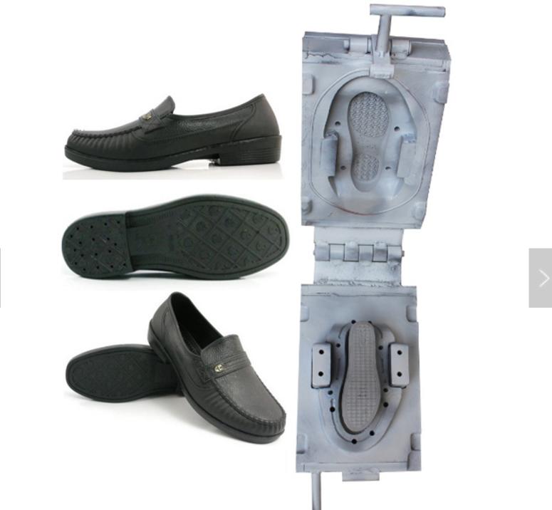 PVC leather shoe mould