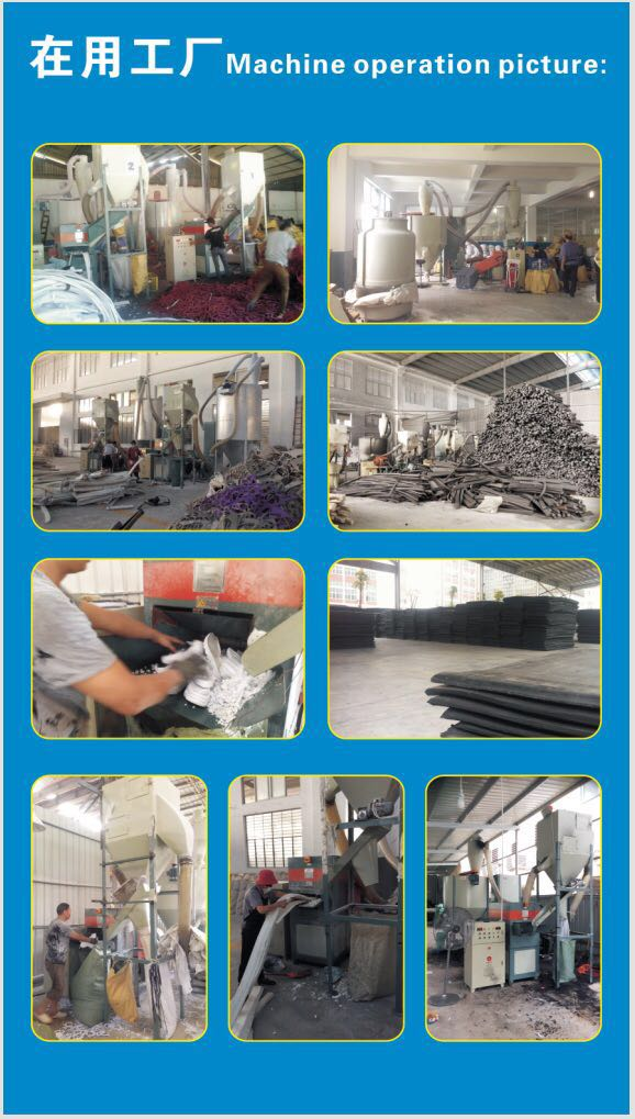 EVA/PE Plastic Form Scrap Grinding Machine