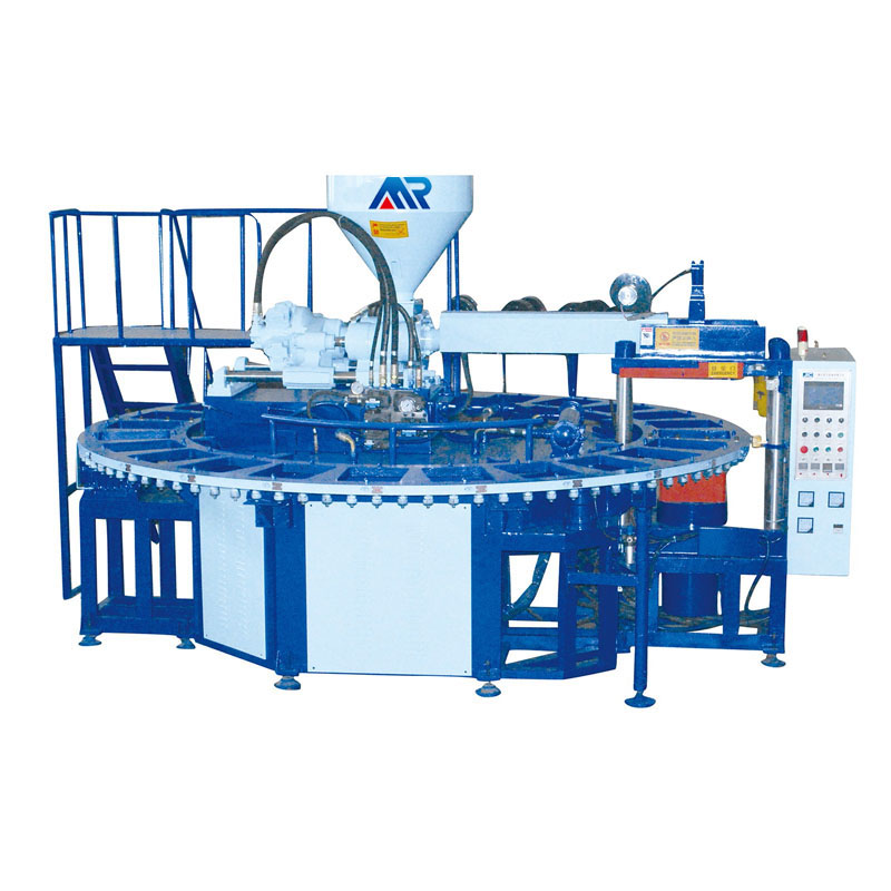 V shape one color air blowing machine