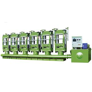 EVA sports shoe sole forming machine