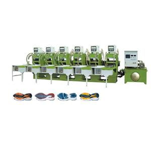 Fully automatic rubber sole molding machine