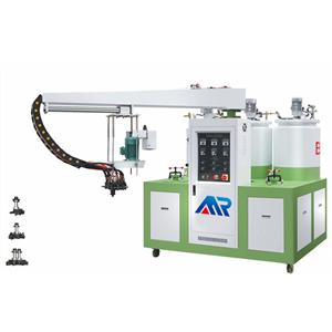Three Color Three Density PU Machine